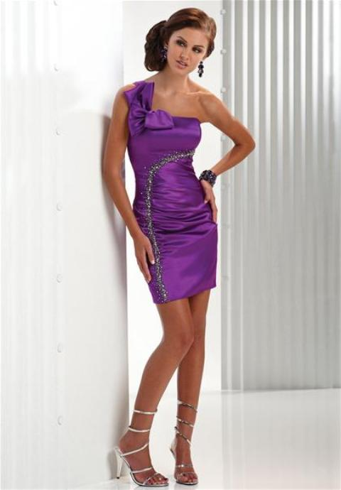 vestidos cortos pomposos