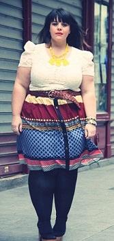 vestidos largos y cortos para gorditas