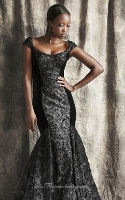 vestidos negros con lentejuelas