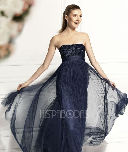 vestidos línea A