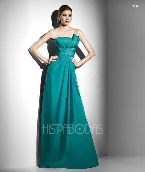 vestidos con plisados