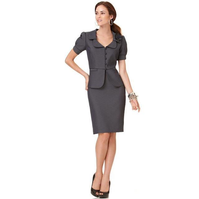 vestidos y conjuntos de oficina