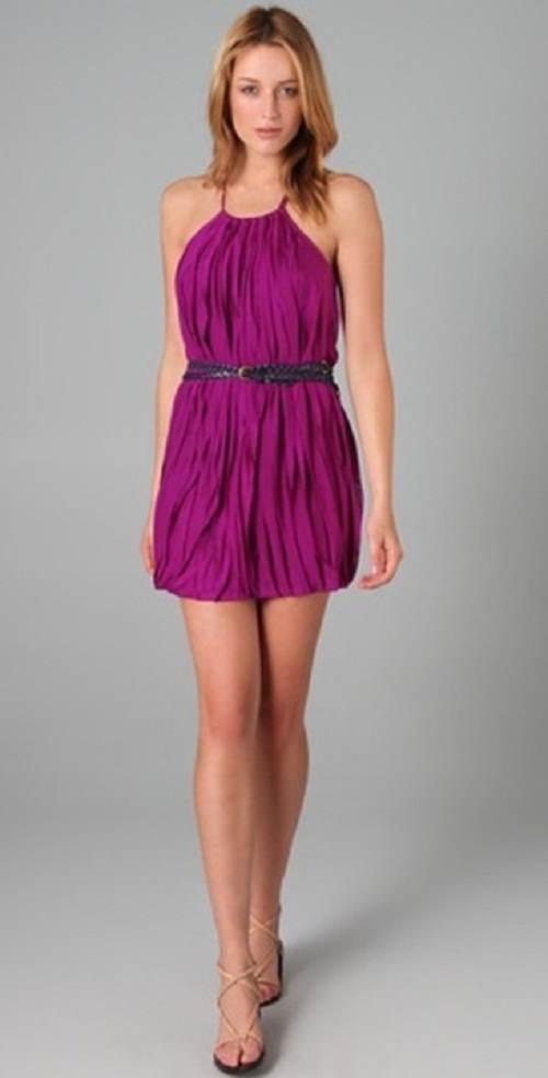 vestidos cortos con correa