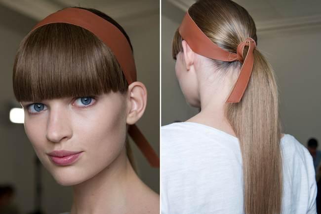 peinados con coletas