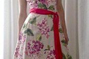 Modelos de vestidos floreados para toda ocasión