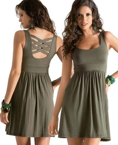 Modelos de vestidos de moda 2012