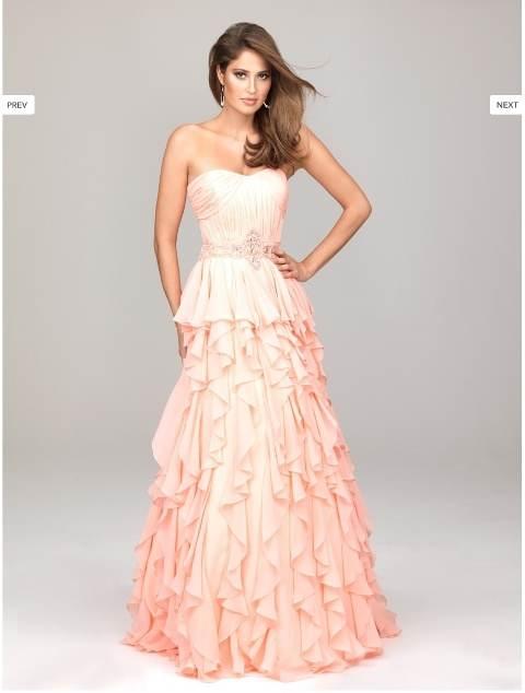 vestidos de colores para quinceañeras