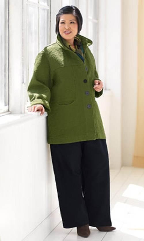 abrigos largos para gorditas