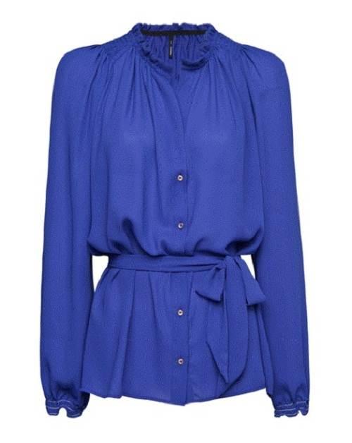 vestidos despampanantes de color azul