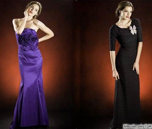 vestidos color morado
