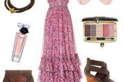 Vestidos elegantes de colores primaverales