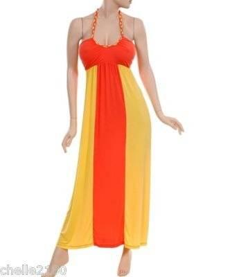 vestidos de colores de diario
