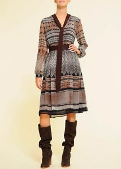 vestidos manga larga de invierno