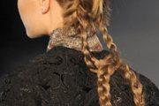 Peinados con trenzas para fiestas de noche