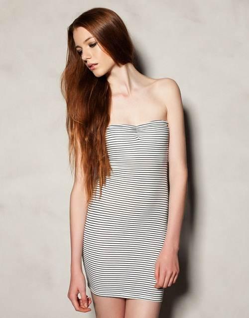 vestidos apretados estampados