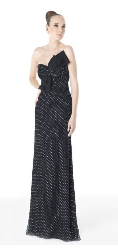vestidos de gasa para fiestas 2012