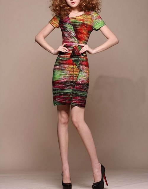 vestidos de colores matizados