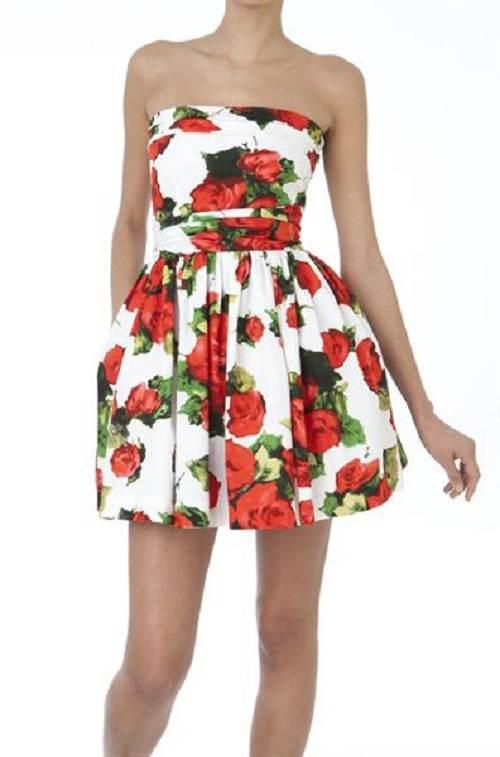 vestidos floreados de verano