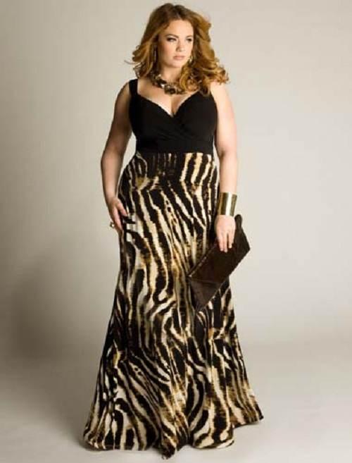 Modelos de vestidos de fiesta para gorditas 2012
