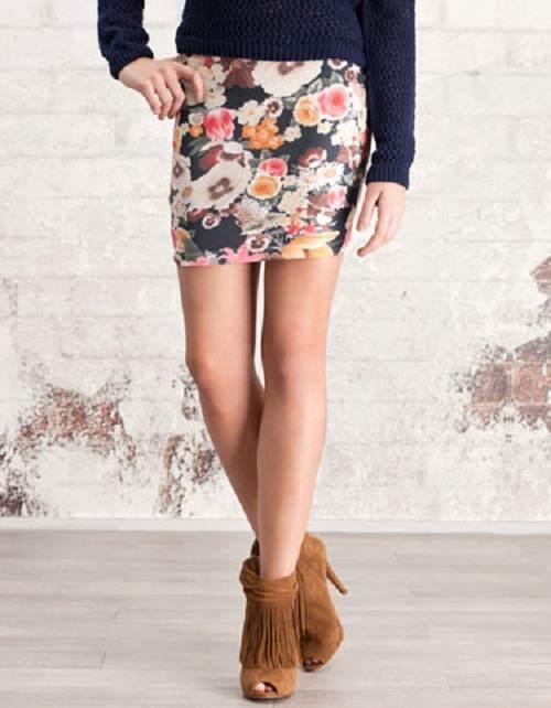 faldas asimétricas de moda