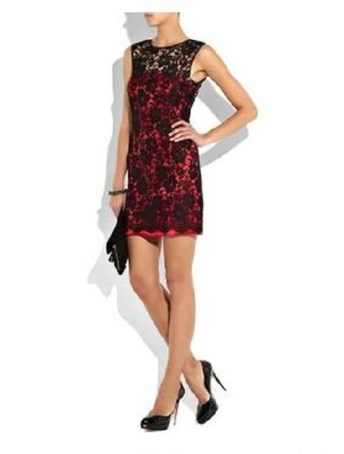 vestidos sueltos con encaje