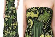 Hermosos modelos de vestidos simples para fiestas