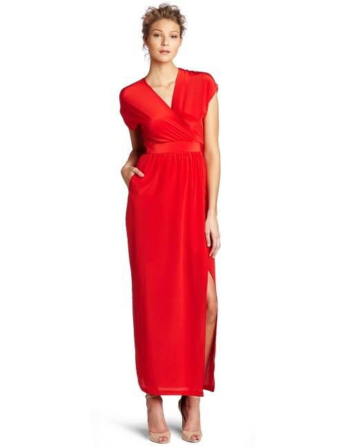 vestidos rojos cortos y largos