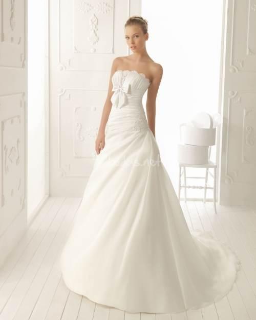 modelos de vestidos blancos para novias