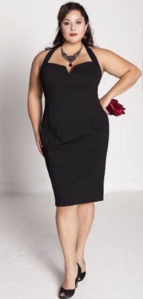vestidos negros con transparencias