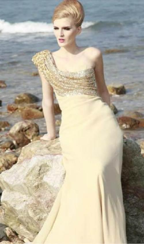 vestidos brillantes con moños