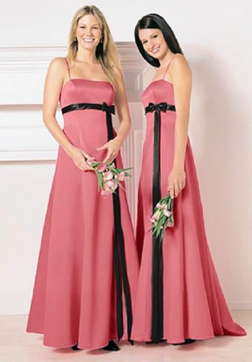 vestidos rectos de fiesta