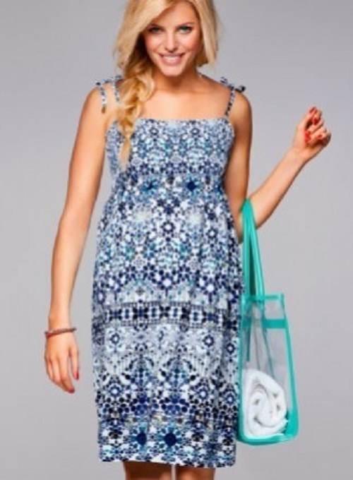 vestidos de playa para embarazadas