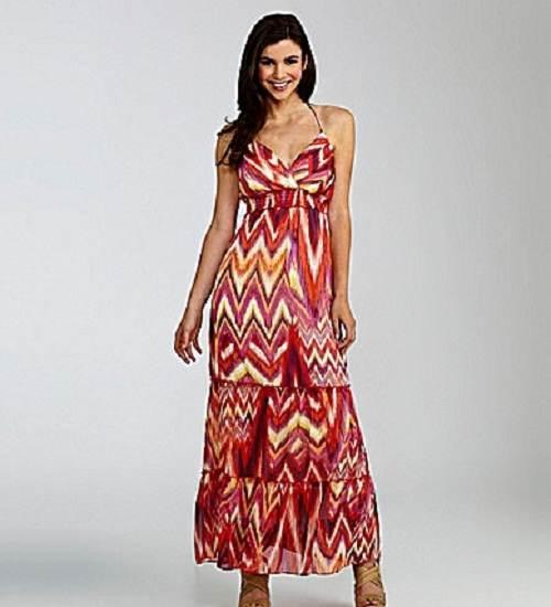 vestidos de colores 2012