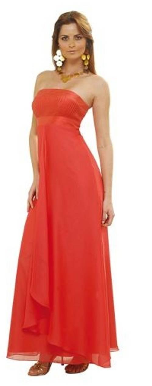 vestidos colores rojisos