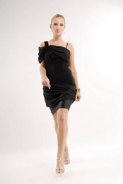 vestidos espectaculares color negros