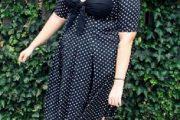 Espectaculares modelos de vestidos cortos para gorditas 2012