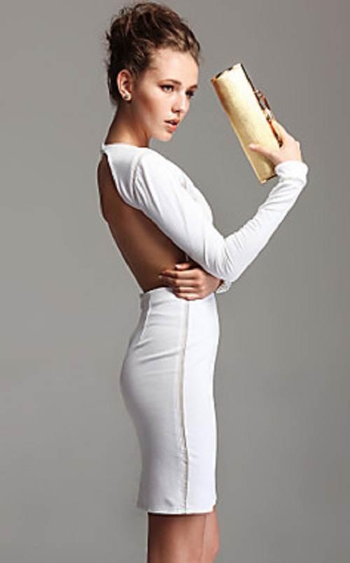vestidos escotados a la moda
