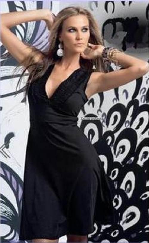 vestidos negros casuales