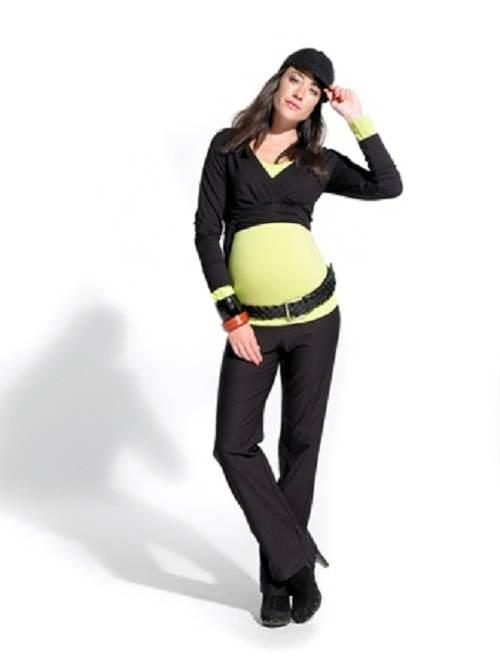 vestidos de invierno de maternidad