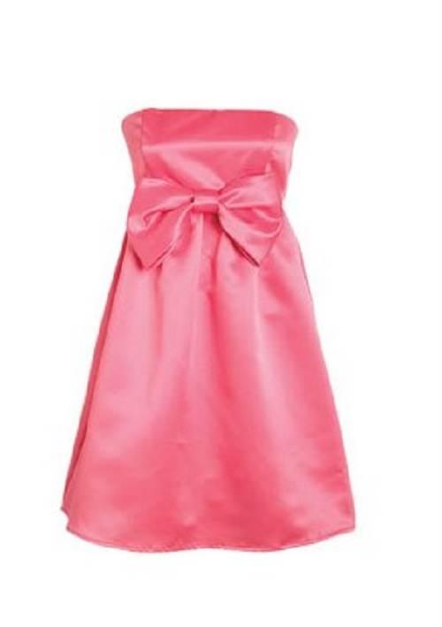 vestidos cortos color rosado