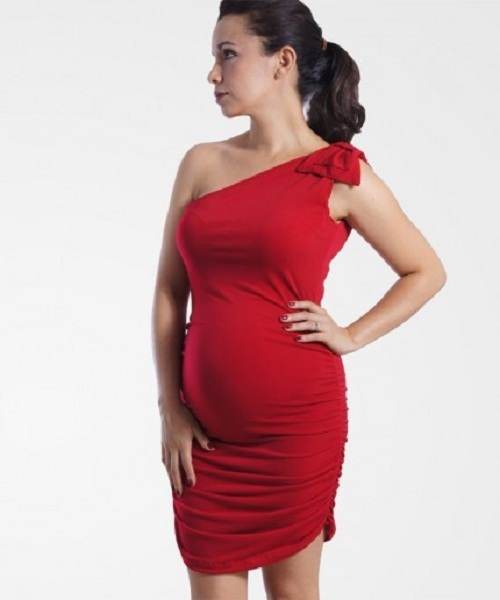 vestidos sensuales para embarazadas