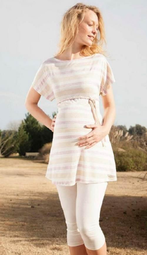 blusas elegantes de maternidad