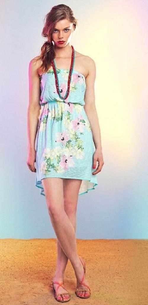 vestidos estampados veraniegos