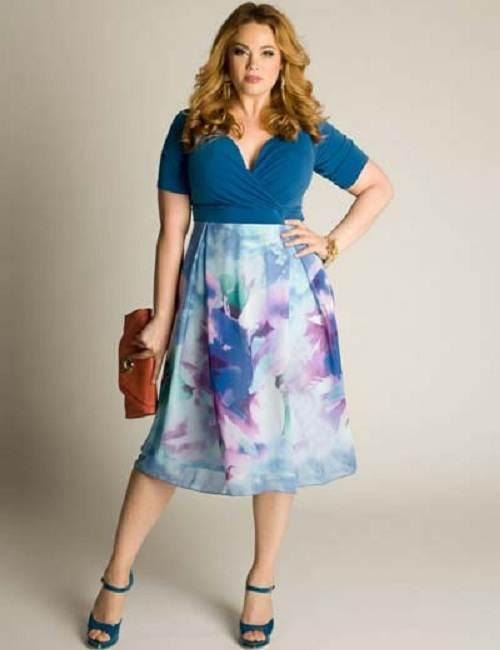 vestidos de colores para gorditas