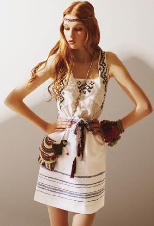 vestidos cortos y largos floreados