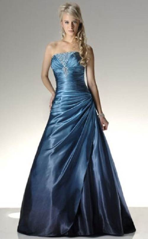 vestidos largos vaporosos de noche