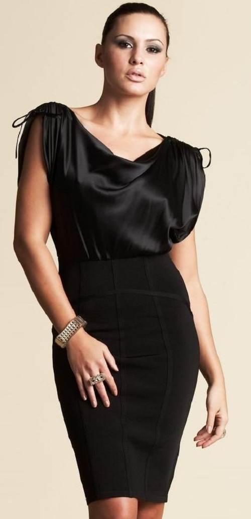 vestidos con recogidos para fiestas