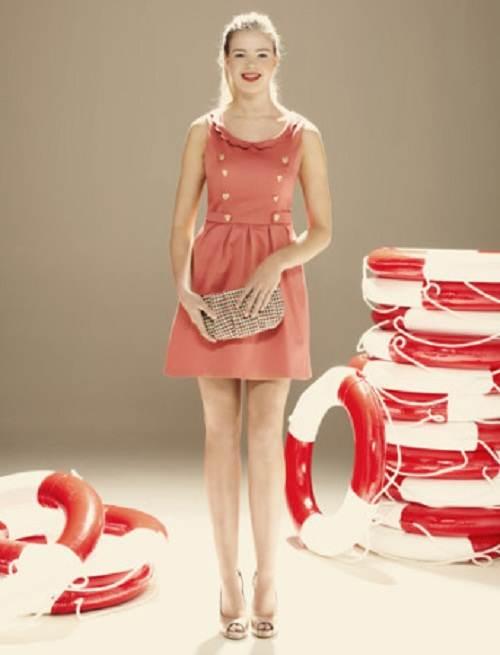 vestidos rayados de verano