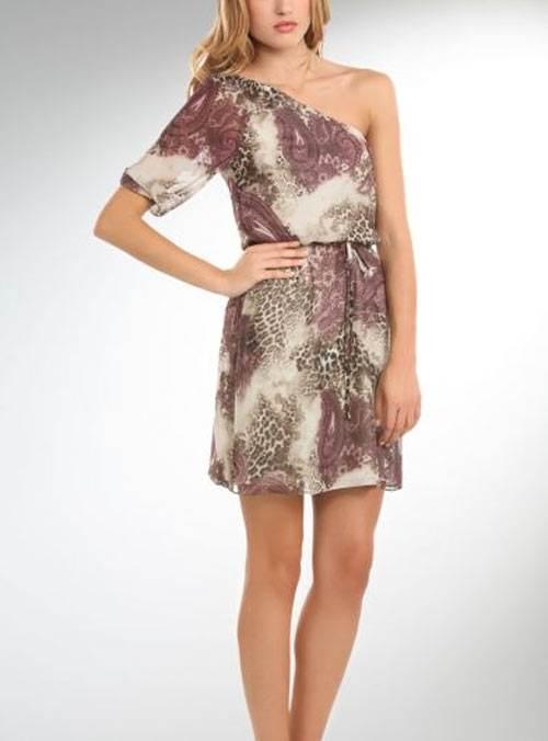 vestidos animal print casuales