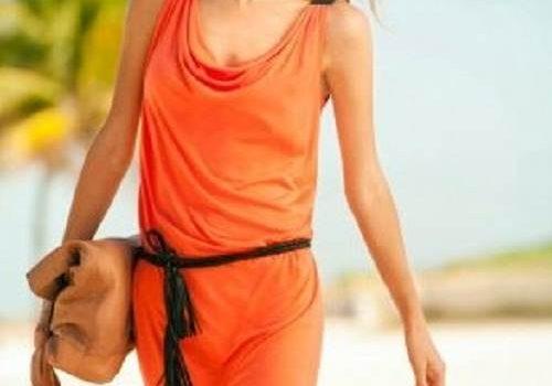 vestidos sueltos para la playa